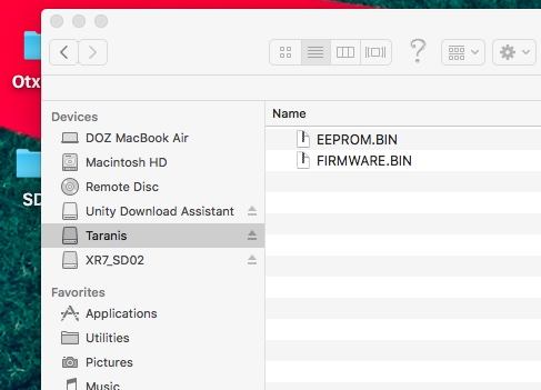 OpenTx on Mac | Aloft Forums